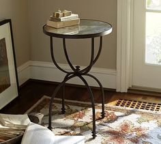 Willow Accent Side Table #potterybarn