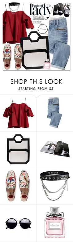 """The Hexad"" by oshint ❤ liked on Polyvore featuring Anna October, Wrap, Inez & Vinoodh, Gucci, Christian Dior, awesome, amazing, beautiful, bag and thehexad"
