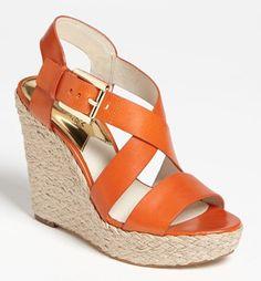 Michael Kors wedge sandal  http://rstyle.me/n/fbrj6pdpe