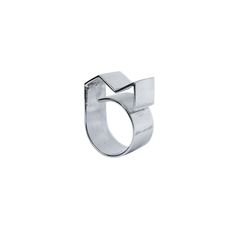 Tara Lawson Jewellery 'M' Ring