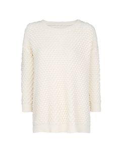MANGO - NOVITÀ - Pullover cotone di maglia rilievo