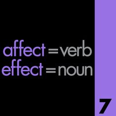 10 Grammar Mistakes: Teaching the difference between affect and effect, principle and principal, and more.