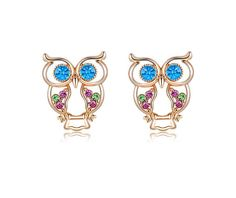 High Quality Owl Earrings. Triple Plated 18K Rose Gold. Made With Top Quality…