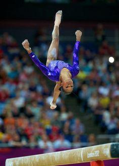 London 2012 Olympics TV Women's Gymnastics Team Finals