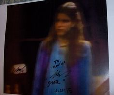 """From former actress Jennifer Vinyl (nee Houlton, Greta Powers on """"The Doctors"""" from 1971-1980):"""