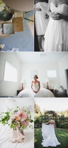 Rustic Vancouver Island Summer Wedding