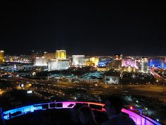 Voodoo lounge at the Rio Las Vegas - didn't hang out in the bar, just went up to check out the view!
