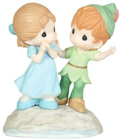☆ New Precious Moments Disney Figurine Peter Pan Wendy Never Lost Porcelain | eBay