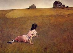 article on magical realism     Christina's World by Andrew Wyeth (1948) - Magic Realism