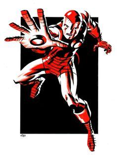 Tony Stark IRON MAN by Michael Cho