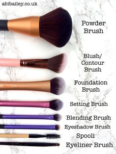 Make Up Brush Starter Kit | abibailey.co.uk