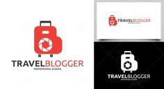 Travel Blogger Logo Logo Templates, Slogan, Texts, Graphics, Travel, Viajes, Graphic Design, Destinations, Printmaking