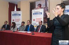 Presentación Teatro Accesible 2012/2013