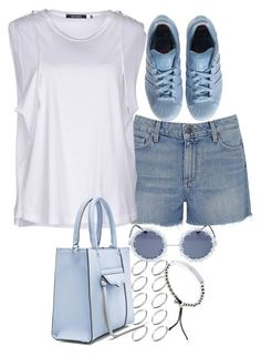 """""""Untitled #3142"""" by plainly-marie ❤ liked on Polyvore featuring Paige Denim, Isabel Marant, Wet Seal, adidas, ASOS, Michael Kors, Rebecca Minkoff, women's clothing, women and female"""