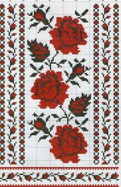 Gallery.ru / Фото #13 - 35 - kento Cross Stitching, Cross Stitch Embroidery, Embroidery Patterns, Hand Embroidery, Cross Stitch Designs, Cross Stitch Patterns, Knitting Charts, Crochet Chart, Cross Stitch Flowers