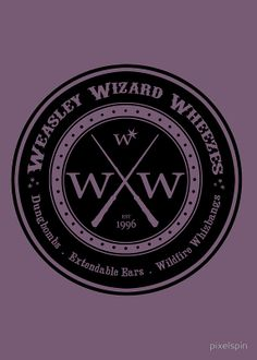 """""""Weasley Wizard Wheezes Logo"""" Posters by pixelspin 