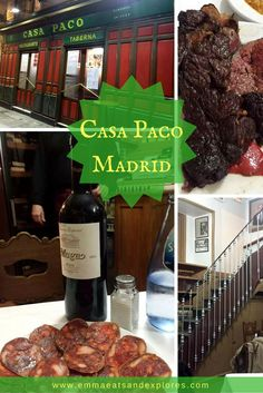 Casa Paco Restaurant, Madrid, Spain by Emma Eats & Explores