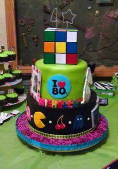 Totally 80's Birthday!