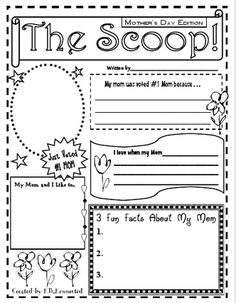 The Scoop ~ Mother's Day Edition! free, different versions, mom, grandmother, aunt, & sister
