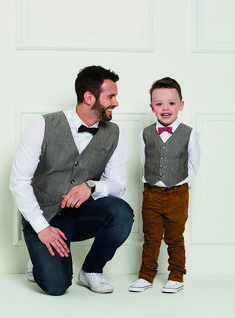Make matching waistcoats for the boys in your life that they will treasure forever. Sew faux welt pockets, an adjustable tie and use a bold lining print to personalise your finished waistcoats. Please be aware this download is for the pattern templates only. Buy a copy of Love Sewing issue 40 to find your instructions.