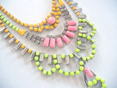 Yes, I am obsessed with necklaces ... via @Etsy
