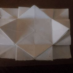 Last part of the origami floating square