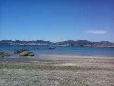 Alcabre en esta orilla y enfrente Cangas del Morrazo. bebeteca.