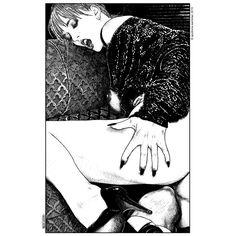Las ilustraciones de Apollonia Saintclair son una dramatización real de la sexualidad contemporánea; impulsos visuales caricaturizados que provocan sensaciones inexploradas.