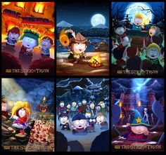 South Park: The Stick of Truth Promo Posters by jdelgado on deviantART