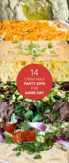 Football fan or not, good dips are key for any successful party—so we've rounded up a few for inspiration, from slow-cooker buffalo chicken dip to queso and more. Best Party Dip, Party Dips, Appetizers For Party, Appetizer Recipes, Game Day Snacks, Game Day Food, Party Food Games, Football Snacks, Cooking Recipes
