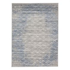 Beautiful in distressed blue, the Ecarpetgallery 195501 Madiba Indoor Area Rug features a simple trellis pattern that freshens your decor in seconds. Renovation Hardware, Trellis Pattern, Machine Made Rugs, Rectangular Rugs, Modern Area Rugs, Grey Pattern, Grey Rugs, Online Home Decor Stores, Blue Grey