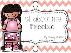 Mini About Me Book {Freebie}
