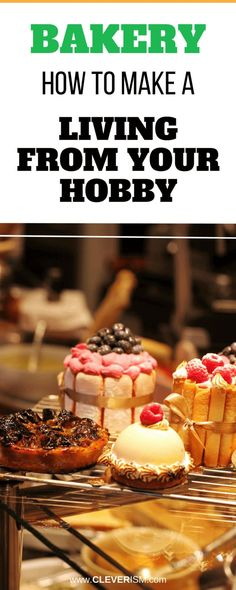 Bakery: How to Make a Living from Your Hobby. If you have a passion for baking and/or have noticed that a lot of people complement you for your tasty baked Home Bakery Business, Baking Business, Catering Business, Cake Business, Business Logo, Home Baking, Baking Tips, Baking Recipes, Food Business Ideas