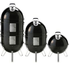 Napoleon Apollo 3 in 1 AS300K Charcoal Grill and Water Smoker provides you with three cooking options. Napoleon Apollo 300 Smoker - Low and slow cooking