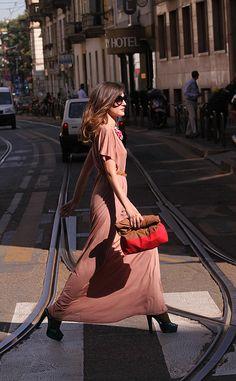 Loving the dress <3