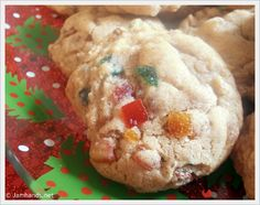 Some of you may be at this very moment wrinkling your nose at the thought of fruitcake. If ever there were a time to embrace fruitcake. Fruit Cake Cookies Recipe, Jam Cookies, Cupcake Cookies, Fruitcake Cookies, Cookie Recipes, Bar Recipes, Cookie Desserts, Dessert Recipes, Kitchens