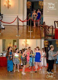 Red Carpet Birthday Party via Kara's Party Ideas | Kara'sPartyIdeas.com #red #carpet #birthday #party #ideas #supplies #decorations (12)