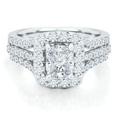helzberg diamond symphonies 2 ct tw diamond engagement ring in 14k gold available - Helzberg Wedding Rings