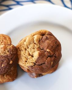 A Tasty New Dessert: Peanut Butter Black and White Cookies