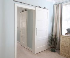 How to make inexpensive barn doors