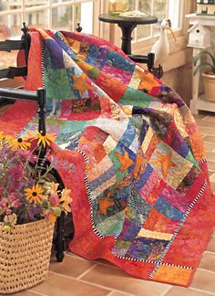 Organize a quilting