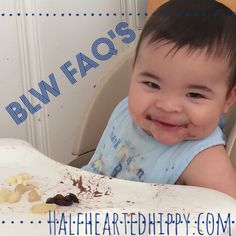 Baby Led Weaning FAQ