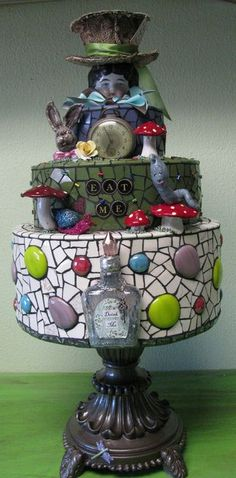 from Mosaic Queen....not my style but definitely whimsical.