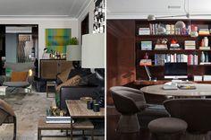 Apartamento de 500 m² em São Paulo, com influência dos anos 30-50, assinada pelo arquiteto paulistano Kiko Salomão.