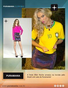 Ellen Roche veste saia Puramania