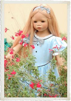 """Lilith in my version of an """"Alice in Wonderland"""" dress   by Airelda"""