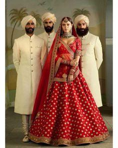 Most Popular Sabyasachi Lehenga Designs For Brides of 2019 - SetMyWed Red Wedding Lehenga, Sabyasachi Lehenga Bridal, Banarasi Lehenga, Red Lehenga, Indian Bridal Lehenga, Bridal Lehnga Red, Wedding Sherwani, Wedding Sarees, Indian Bridal Outfits