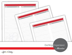 The Movie Tracker Printable Pack 26 Pages by LemonLinesAZ on Etsy, $5.00