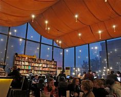 A café, European bistro, lending library and bookshop all in one under a draped ceiling with floating candles, the Bookworm has been a perennial favorite among expats since its opening in 2000, says Wikimapia.
