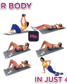 Handy workout plans which are truly excellent for beginners, both gentlemen and female to action. Research the Grade A fitness workout plans pinned image reference 8001546872 today. Fitness Workouts, Yoga Fitness, Fitness Workout For Women, Sport Fitness, Fitness Tracker, Easy Workouts, Fitness Goals, At Home Workouts, Health Fitness